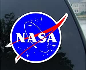 Amazon.com: Round NASA Seal (meatball logo) Sticker