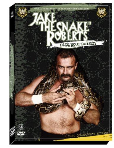 amazoncom wwe jake the snake roberts pick your poison jake the snake roberts movies tv