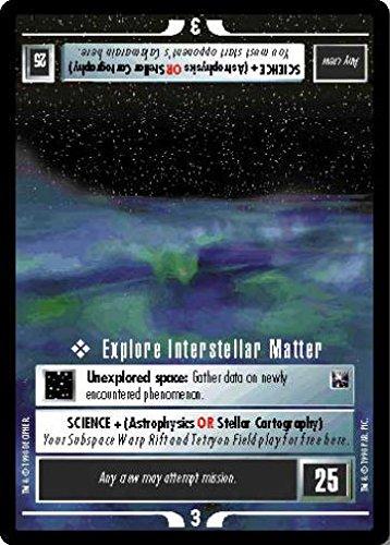 (STAR TREK CCG 1E THE OFFICIAL TOURNAMENT DECK EXPLORE INTERSTELLAR MATTER)