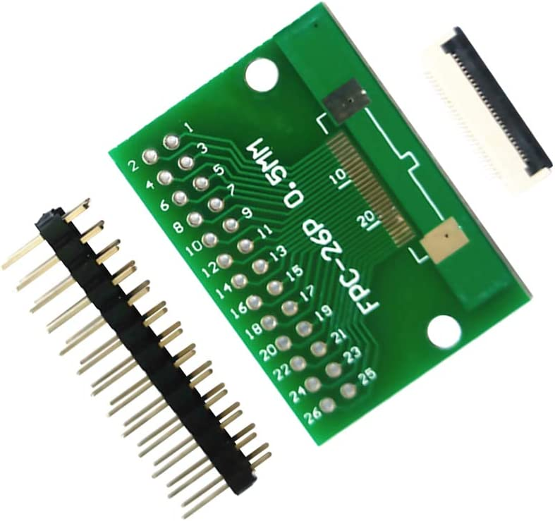 40P 30P 60P 34P 50P 26pin Sharplace Plac de Transferencia Ffc Giratorio de 2.54 0.5mm FPC Cabecera de Pin 26P