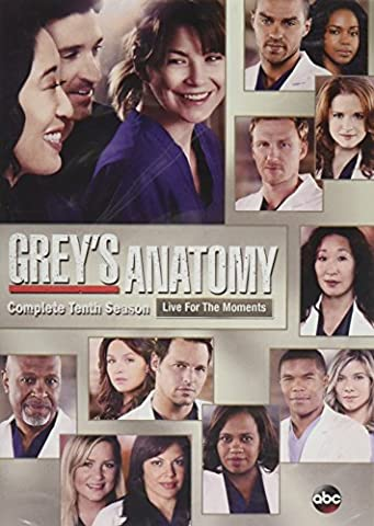 Grey's Anatomy: Season 10 (Greys Anatomy Dvd Seasons)
