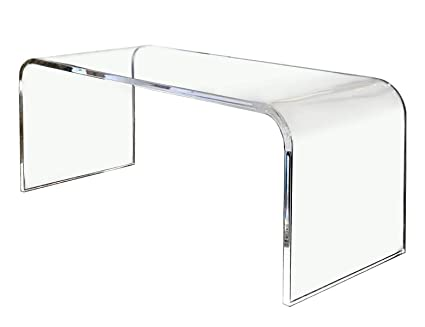 Southeastflorida Acrylic Coffee Table 32 X 16 X 16 X 3/4 Premium Domestic  Material