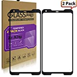 [2-Pack]Google Pixel 2 XL Tempered Glass Full Screen Protector, ZeKing 0.33mm 2.5D Edge 9H Hardness [Anti Scratch][Anti-Fingerprint] Bubble Free, Lifetime Replacement Warranty