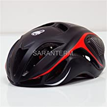 Mens Bicycle Cycling Helmet Cover Cascos Ciclismo Mtb Capaceta Bicicleta Road Bike Integrall Casco Bici SW blk red L