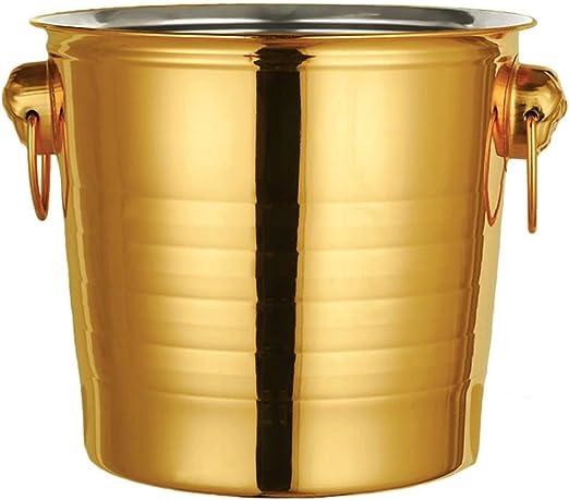 LaBoul Flaschenk/ühler mit Ice Pack Gold