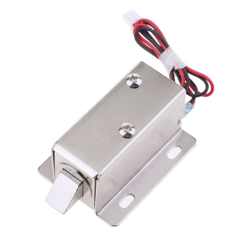 Homyl Universal 6V 1.5A Mini Electric Magnetic Electromagnetic Lock Door Gate Access Entry Control