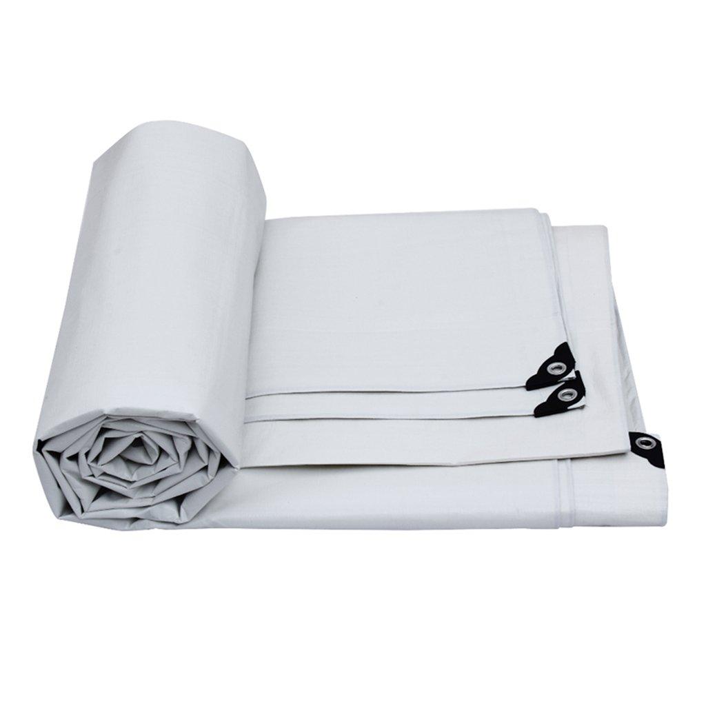 XING ZI tarpaulin X-L-H Imprägniern Sie Und Regendichter Abdeckplanenplanenplanenplanenplanenplanen-Sonnenschutzschirm des Im Freien Weißen Tuches
