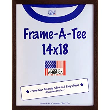 T Shirt Frame - Walnut (14x18)