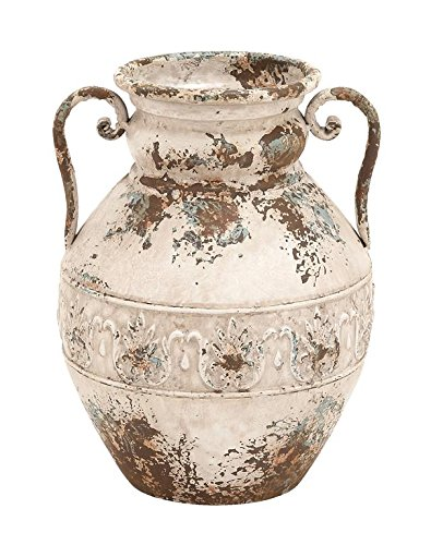 Deco 79 Metal Vase, 15 by 12-Inch