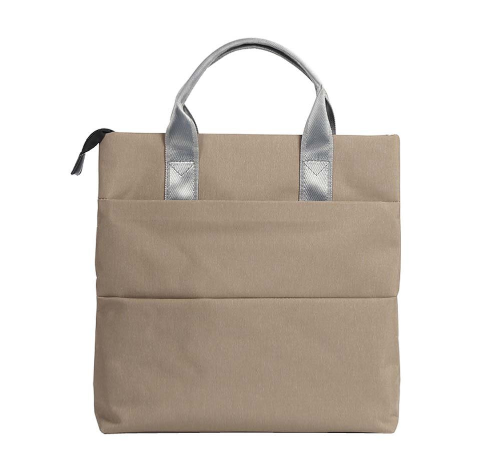 Skin Color Fashion Casual Tote Bag Office Briefcase Business Meeting Handbag 1 Piece