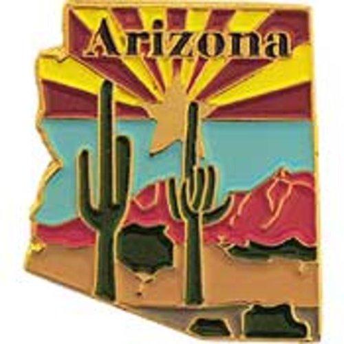 Arizona Wall Map (Arizona Map Pin 1