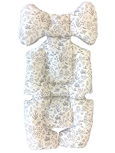Momnoko 3D Air Mesh Liner for Stroller & Car Seat (Leaves Pattern)