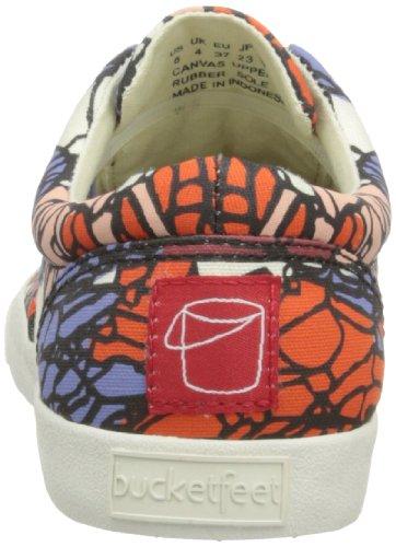 Bucketfeet Dames Jayson Atienza Lage Top Sneaker 10