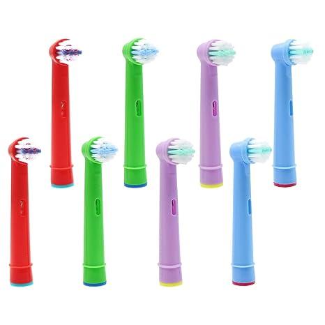 YanBan - Cabezales de repuesto para cepillo de dientes infantil Oral B Advance Power Pro Health