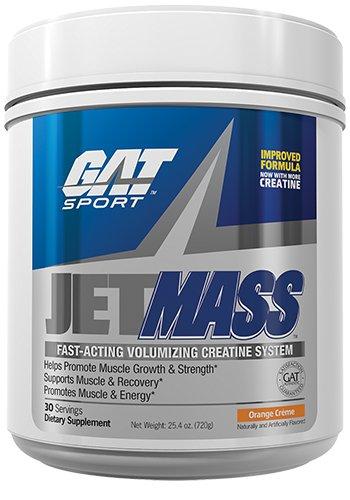 GAT JetMASS Fastest-Acting Muscle Volumizing Creatine System Orange Creme 30 Servings by GAT