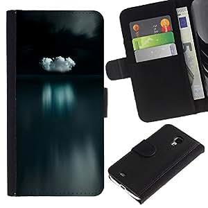 TaiTech / - Océano Aguas tranquilas Reflexión Noche - Samsung Galaxy S4 Mini i9190
