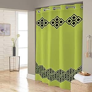 Right Canvas Lime 180cm x 200cm Shower Curtain - RG138NPAB00067