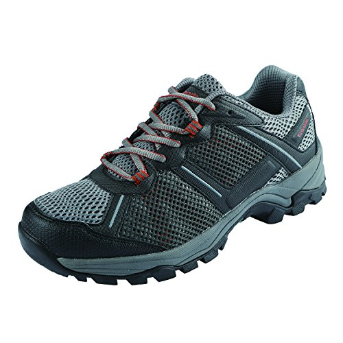 (Northside Men's Lynx V2 Hiking Shoe, Black/Orange, Size 9 M US)