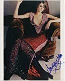 Jacquetta Wheeler Sexy English Model Signed Color 8x10 Photo With COA pj2