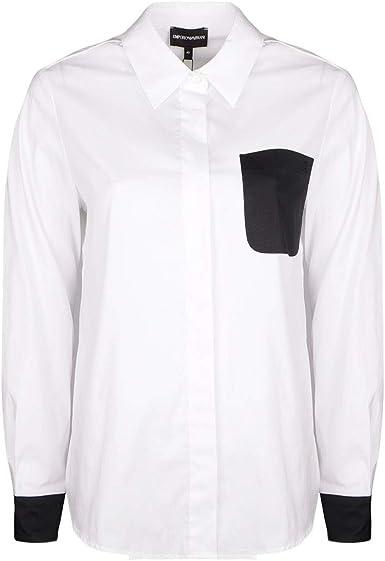 Emporio Armani Camisa - 3Z2C61 2N2IZ - 40 - (IT) 44: Amazon.es: Ropa y accesorios