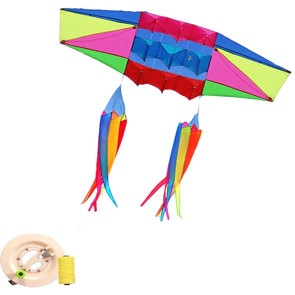 凧,アウトドア玩具 B (色 レーダー傘布カイト、フロントポールステレオ大大人カイト簡単に飛ぶ スポーツ健康の楽しみ (色 : D) D) B07QN5KR9S B B, カイホーク:407f5004 --- ferraridentalclinic.com.lb