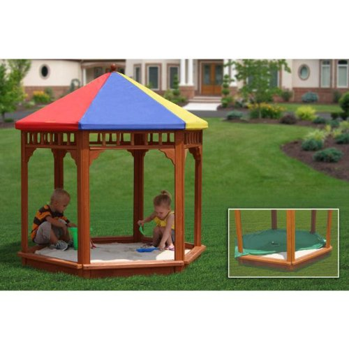 y-Zee-Bo Covered Sandbox (Sandbox Canopy)