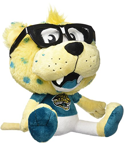 NFL Jacksonville Jaguars Women's Study Buddy Plush Toy, Medium, Brown (Toys Mascot Plush Stuffed)