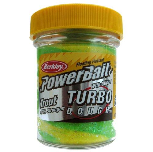 PowerBait Glitter Turbo Dough -