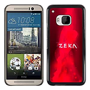 Stuss Case / Funda Carcasa protectora - Red Flaming Zeka - HTC One M9