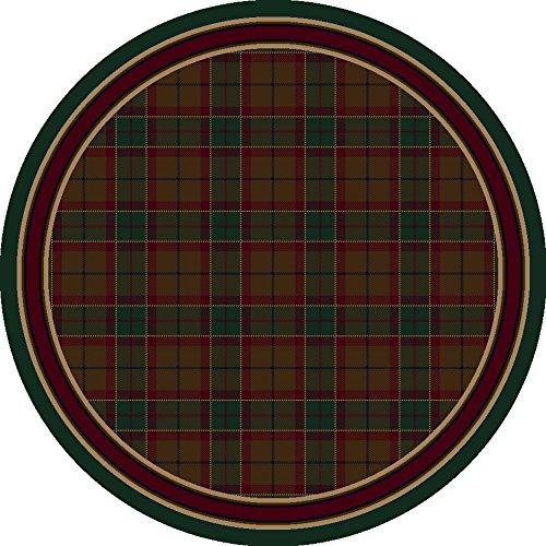 Signature Magee Tartan Emerald Rug Rug Size: Round 7'7