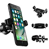 Car Phone Mount Kcondicee Universal Car Air Vent Phone Holder Stand Cradle 360 Degree Rotation Multifunction for iPhone XR XS Max 8/8 Plus 7/7Plus 6s/6s Plus 6/6 Plus Samsung and More