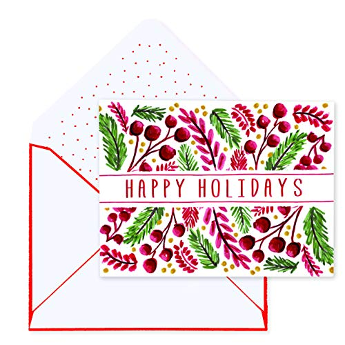 - Holiday Wreath pieces Deluxe Boxed Cards