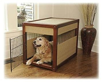 mr deluxe dog crate large