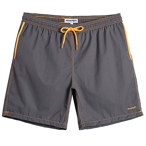 MaaMgic Mens Quick Dry Swim Trunks with Mesh Lining Male Bathing Suits -