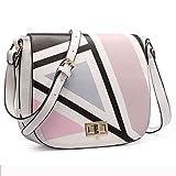 Ladies PU Digital Printing Satchel Girl Shoulder Bag Cute Cross-Body Bag