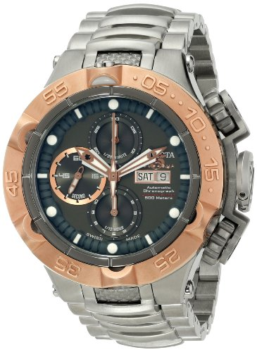 Invicta Men's 15491 Subaqua Analog Display Swiss Made Automatic Silver Watch