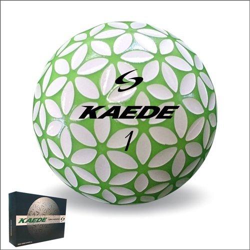 Kaede Golf Ball 1 Dozen Green