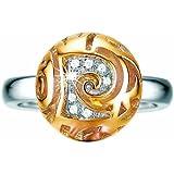 Pierre Cardin Damen-Ring Pleine Lune Sterling-Silber 925