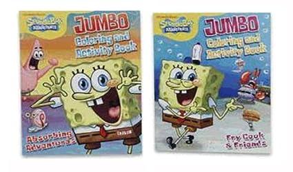 Amazon.com: Spongebob Jumbo Coloring and Activity Book ...