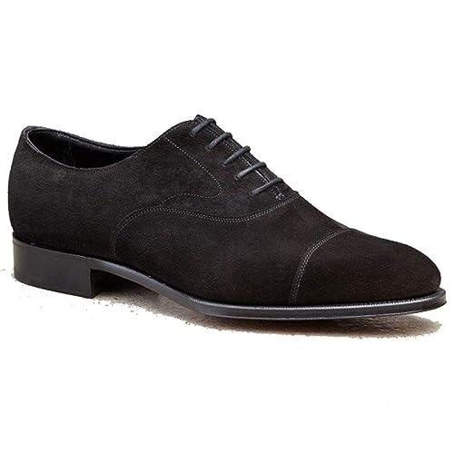 Buy Costoso Italiano Black Suede Formal