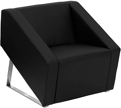 Flash Furniture HERCULES Smart Series Black LeatherSoft Lounge Chair