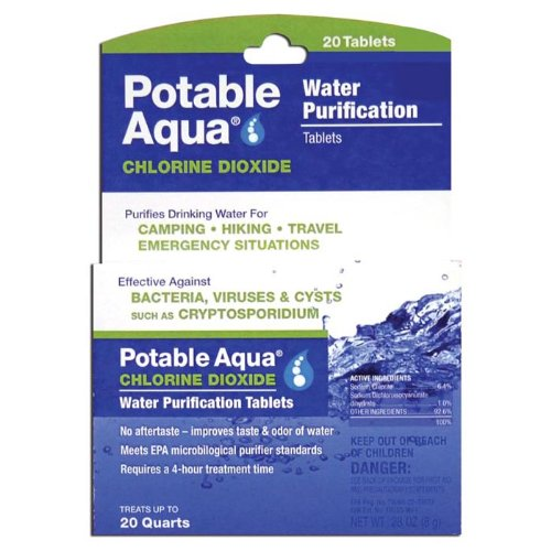 Potable Aqua Chlorine Dioxide Tablets by Potable Aqua