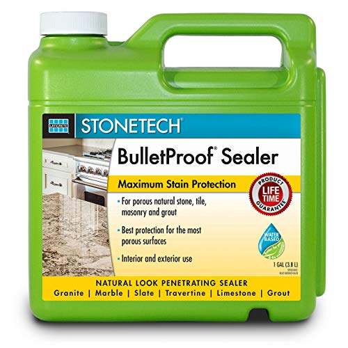 (StoneTech BPSS4-1G BulletProof Stone Sealer, 1-Gallon Container, 2 Pack)