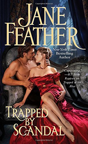 book cover of Trapped By Scandal