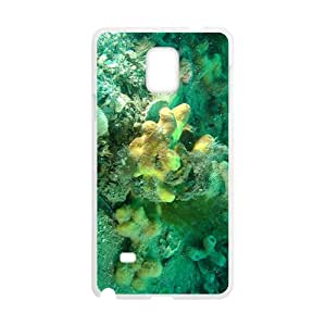 The Green Coral Reef Hight Quality Plastic Case for Samsung Note4