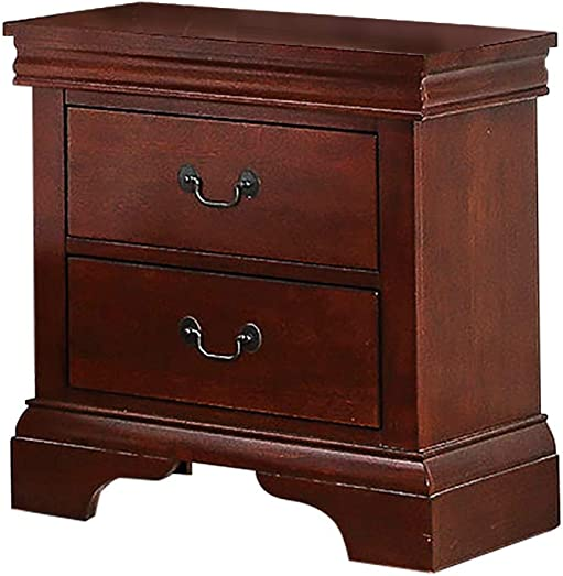 Poundex Nightstand, Brown