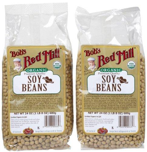 Bob's Red Mill Organic Soy Beans, 24 oz, 2 pk