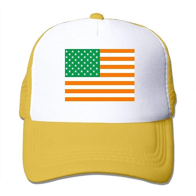 Gorra de béisbol Bandera Irlandesa de los Estados Unidos Gorro de Camionero Gorras Ajustables, Unisex, Talla única: Amazon.es: Ropa y accesorios