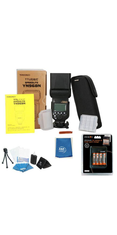 Amazon com : YONGNUO YN968N Wireless Camera Flash Pro KIT