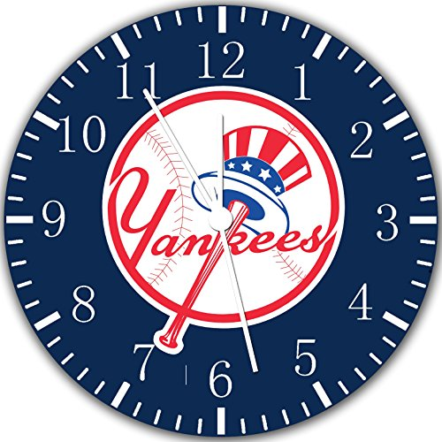 Borderless Yankees Frameless Wall Clock W103 Nice for Decor Or Gifts